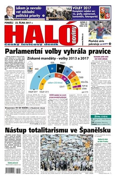 Haló noviny - 23_10_2017 - Elektronické noviny
