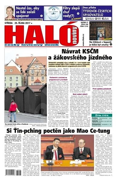 Haló noviny - 25_10_2017 - Elektronické noviny