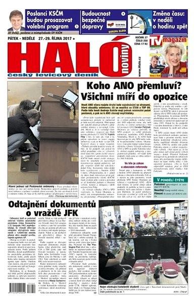 Haló noviny - 27_10_2017 - Elektronické noviny