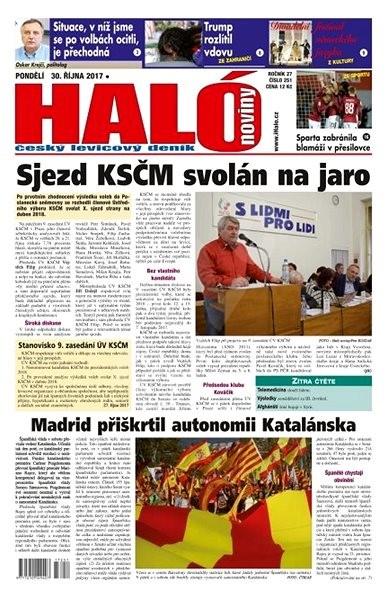 Haló noviny - 30_10_2017 - Elektronické noviny