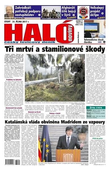 Haló noviny - 31_10_2017 - Elektronické noviny