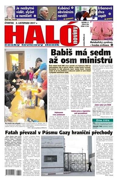 Haló noviny - 02_11_2017 - Elektronické noviny