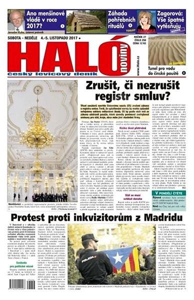 Haló noviny - 04_11_2017 - Elektronické noviny