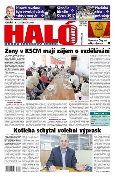 Haló noviny - 06_11_2017 - Elektronické noviny