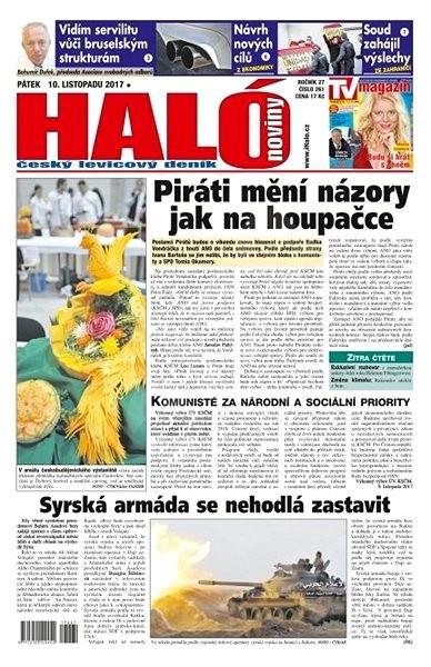 Haló noviny - 10_11_2017 - Elektronické noviny