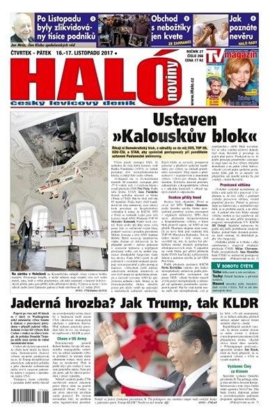 Haló noviny - 16_11_2017 - Elektronické noviny