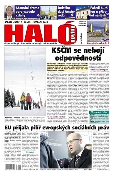 Haló noviny - 18_11_2017 - Elektronické noviny