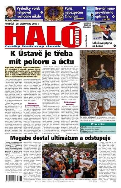 Haló noviny - 20_11_2017 - Elektronické noviny