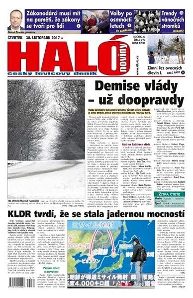Haló noviny - 30_11_2017 - Elektronické noviny