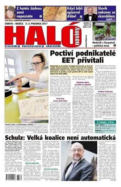 Haló noviny - 02_12_2017 - Elektronické noviny