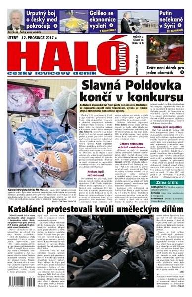 Haló noviny - 12_12_2017 - Elektronické noviny