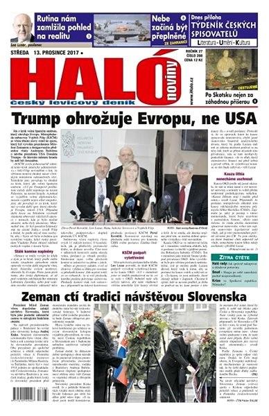 Haló noviny - 13_12_2017 - Elektronické noviny
