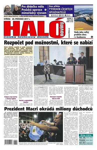 Haló noviny - 20_12_2017 - Elektronické noviny