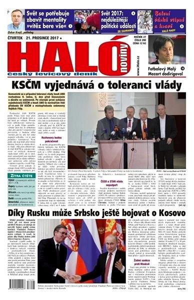 Haló noviny - 21_12_2017 - Elektronické noviny