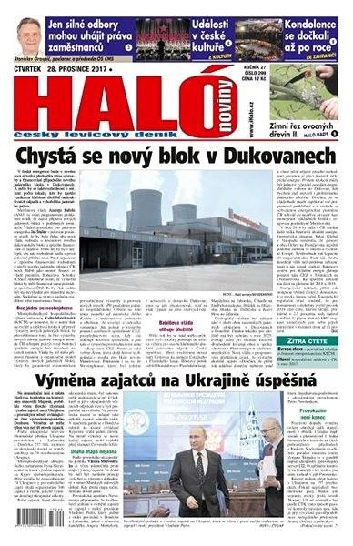 Haló noviny - 28_12_2017 - Elektronické noviny