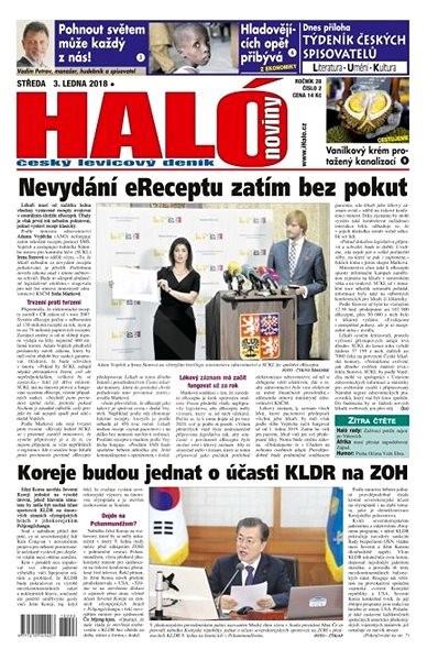 Haló noviny - 03_01_2018 - Elektronické noviny