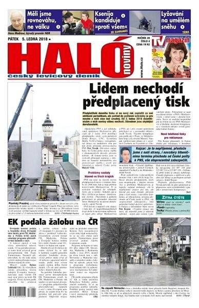 Haló noviny - 05_01_2018 - Elektronické noviny