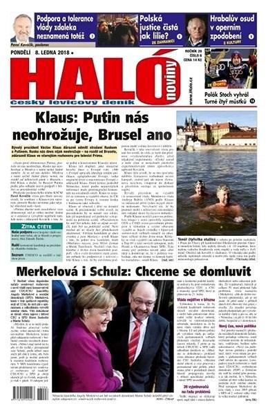 Haló noviny - 08_01_2018 - Elektronické noviny