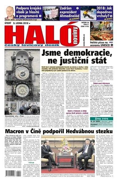 Haló noviny - 09_01_2018 - Elektronické noviny