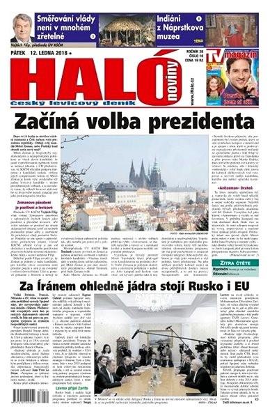 Haló noviny - 12_01_2018 - Elektronické noviny