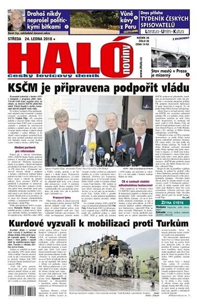 Haló noviny - 24_01_2018 - Elektronické noviny