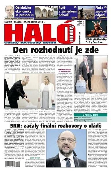 Haló noviny - 27_01_2018 - Elektronické noviny