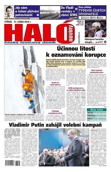 Haló noviny - 31_01_2018 - Elektronické noviny