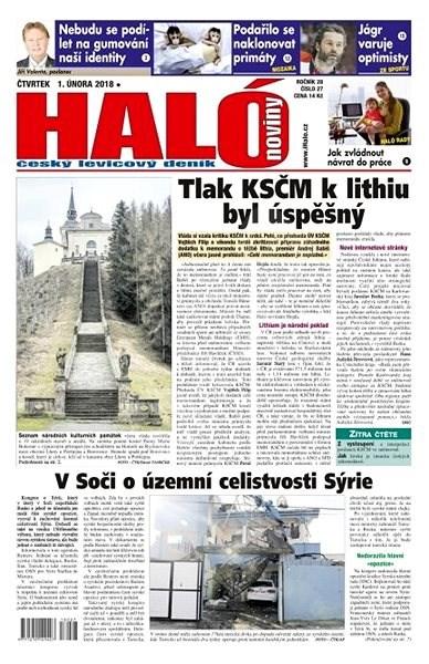 Haló noviny - 01_02_2018 - Elektronické noviny
