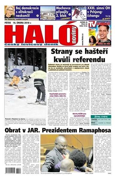 Haló noviny - 16_02_2018 - Elektronické noviny
