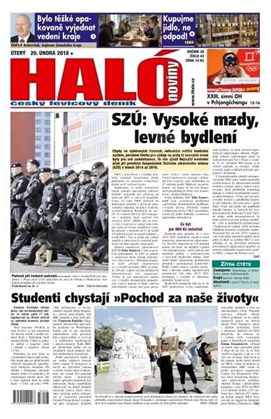 Haló noviny - 20_02_2018 - Elektronické noviny
