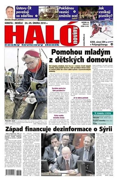 Haló noviny - 24_02_2018 - Elektronické noviny