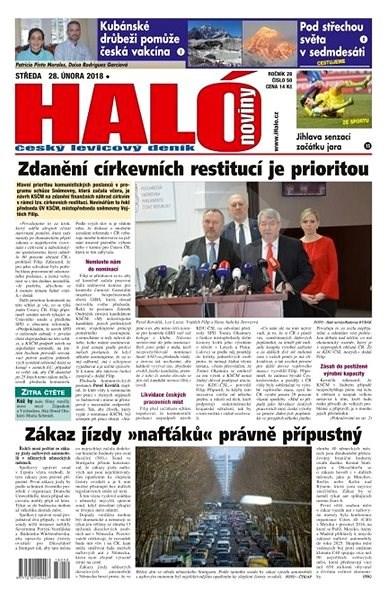 Haló noviny - 28_02_2018 - Elektronické noviny