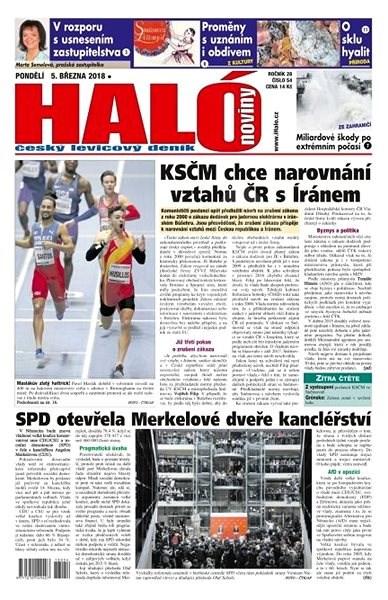 Haló noviny - 05_03_2018 - Elektronické noviny