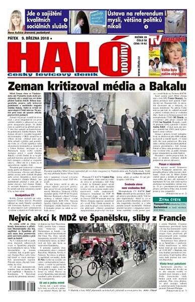 Haló noviny - 09_03_2018 - Elektronické noviny