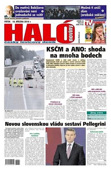 Haló noviny - 16_03_2018 - Elektronické noviny