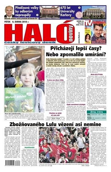 Haló noviny - 06_04_2018 - Elektronické noviny