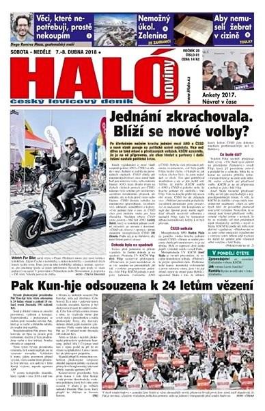 Haló noviny - 07_04_2018 - Elektronické noviny