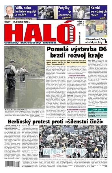Haló noviny - 17_04_2018 - Elektronické noviny