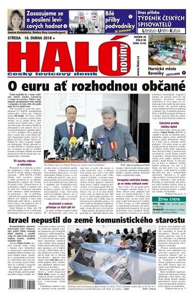 Haló noviny - 18_04_2018 - Elektronické noviny