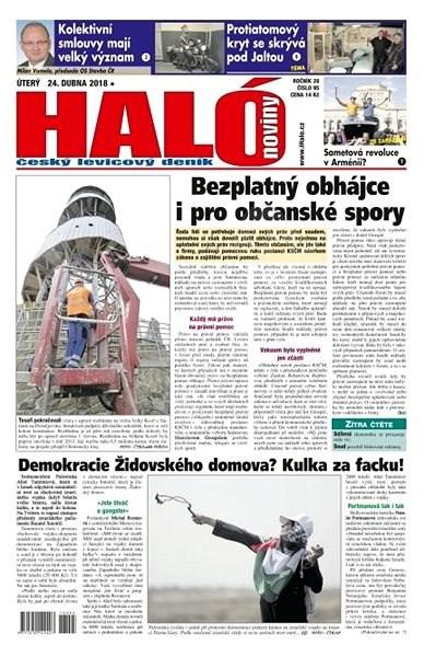 Haló noviny - 24_04_2018 - Elektronické noviny