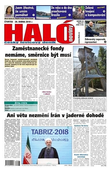 Haló noviny - 26_04_2018 - Elektronické noviny