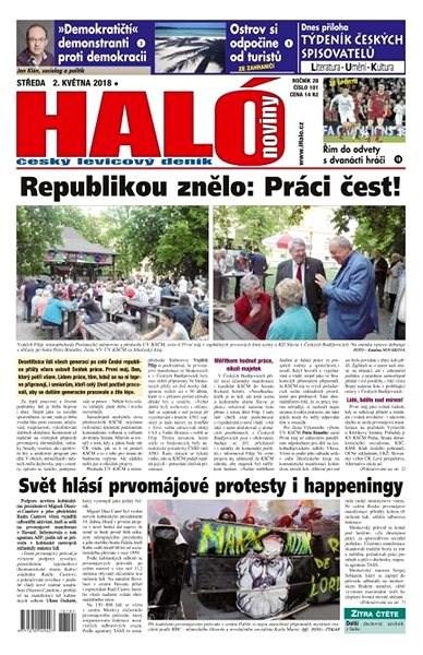 Haló noviny - 02_05_2018 - Elektronické noviny