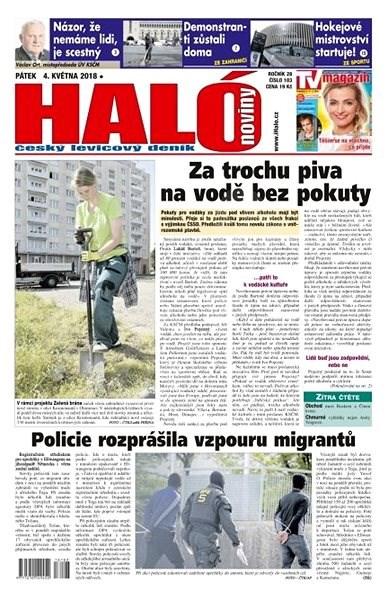 Haló noviny - 04_05_2018 - Elektronické noviny