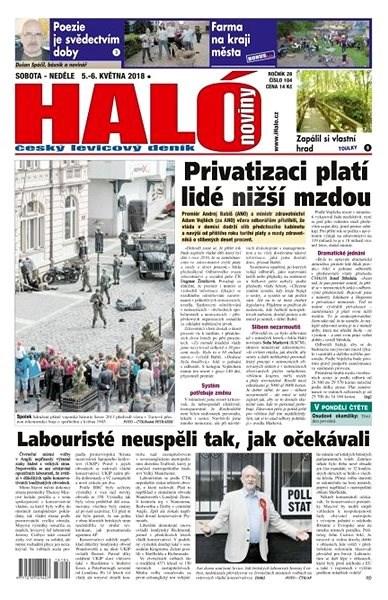 Haló noviny - 05_05_2018 - Elektronické noviny