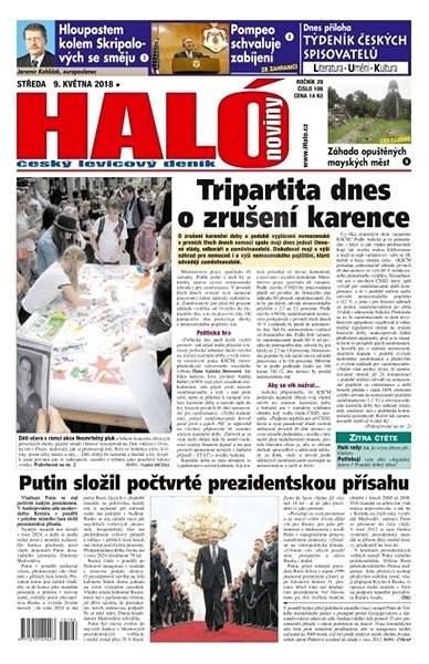 Haló noviny - 09_05_2018 - Elektronické noviny