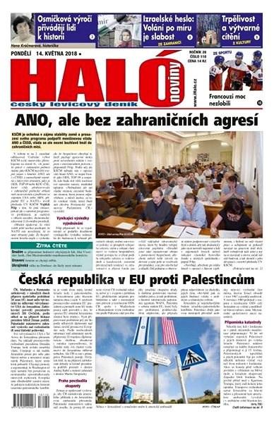 Haló noviny - 14_05_2018 - Elektronické noviny