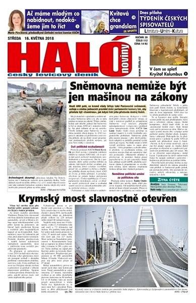Haló noviny - 16_05_2018 - Elektronické noviny