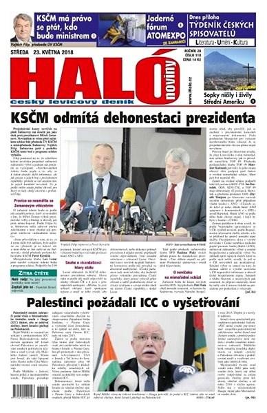 Haló noviny - 23_05_2018 - Elektronické noviny