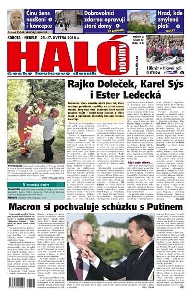 Haló noviny - 26_05_2018 - Elektronické noviny
