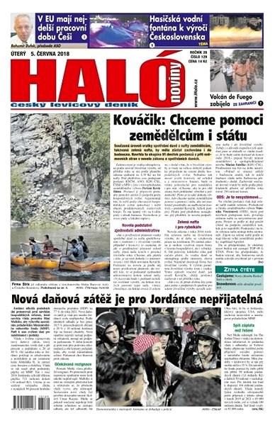 Haló noviny - 05_06_2018 - Elektronické noviny